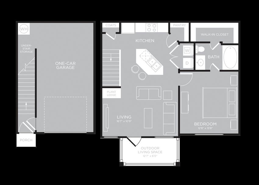 SYDNEY Floor Plan at Century Travesia, Austin, Texas