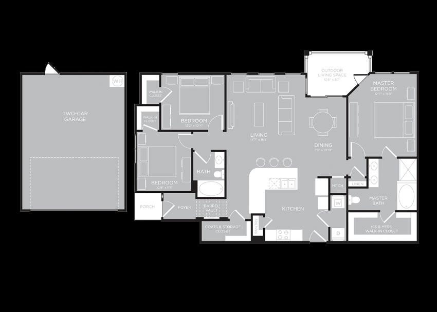 TORINO Floor Plan at Century Travesia, Austin