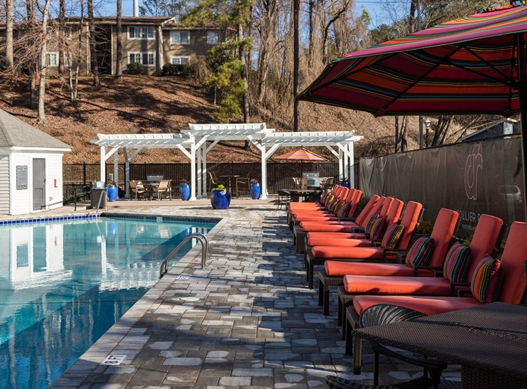 Resort Style Pool with Sundeck at Collier Ridge, Atlanta, GA, 30327