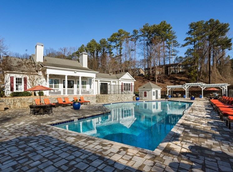 Glimmering Swimming Pool at Collier Ridge, Atlanta, GA