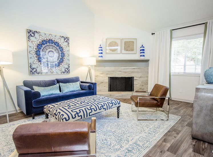Warm and Inviting Living Room at Collier Ridge, Atlanta, GA, 30327