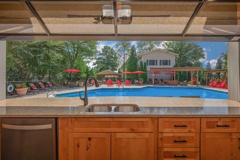 Swimming Pool Bar interior