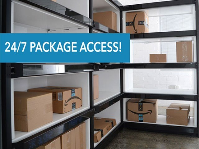 24/7 Package Access via Hello Package