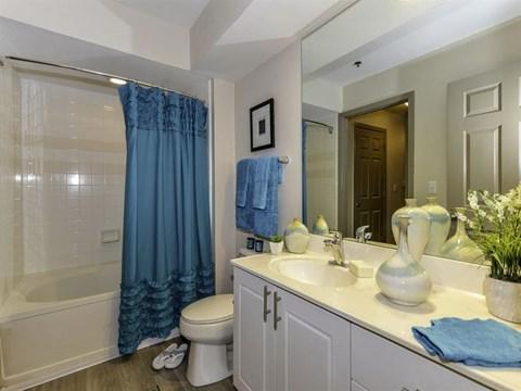 Bathroom With Bathtub at Dawson Forest, Dawsonville, GA