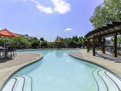 Resort Inspired Pool with Sundeck at Dawson Forest, Dawsonville, GA, 30534