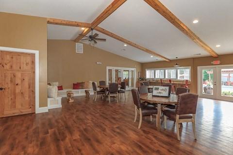 Clubhouse / Hardwood floor