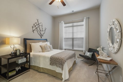 Reserve at Kenton Place model master bedroom