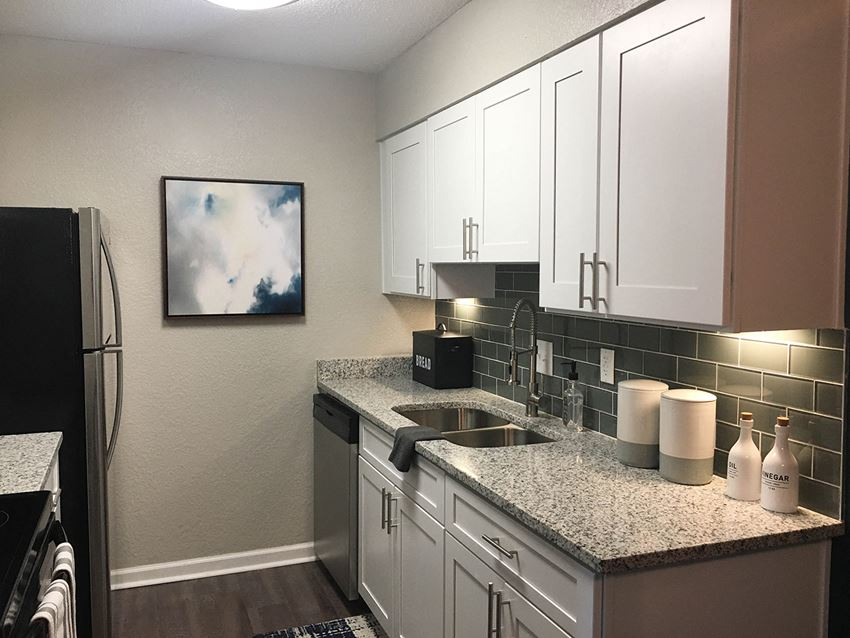 Kitchen Cabinetry and appliances at Latitude at Riverchase