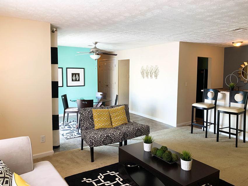 Spacious Living Room at Sienna Ridge in Atlanta, GA