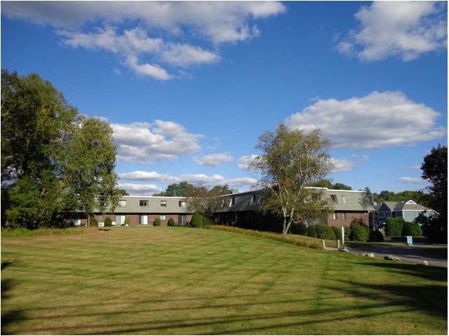 Spacious Lawn Areas with Beautiful Landscaping at Coach House, Chelmsford