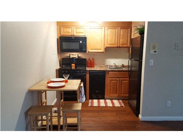 Kitchen with Pantry Cabinet at Coach House, Chelmsford, MA