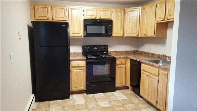 Kitchen Appliances at Coach House, Massachusetts, 01824