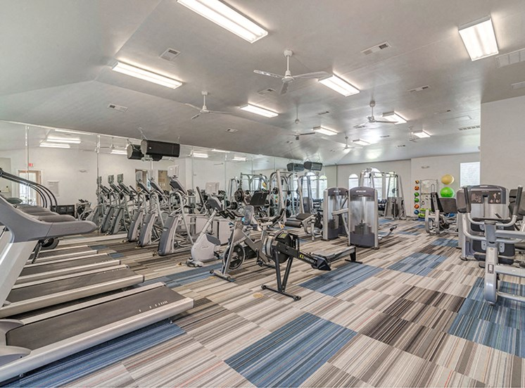 Fitness Center With Modern Equipment at Century Travesia, Austin, TX, 78728