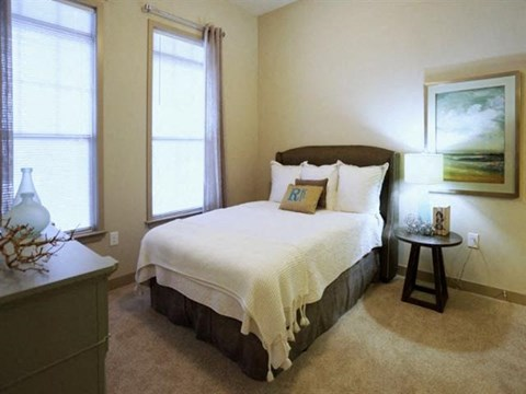 Reserve at Kenton Place model guest bedroom