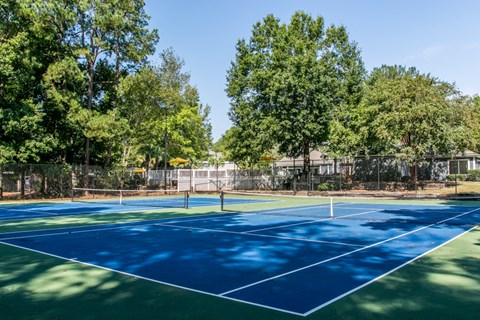 St. Andrews Commons tennis court