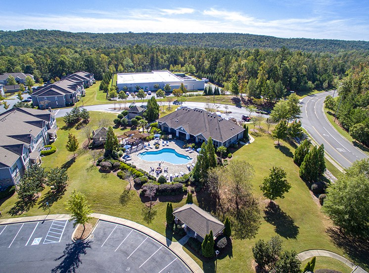 Eagle View of Property at STONEGATE, Birmingham, AL, 35211