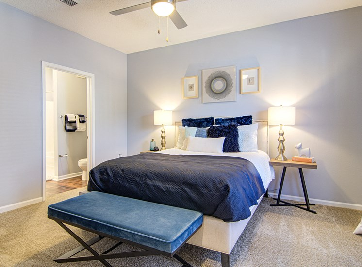 Lavish Bedroom at STONEGATE, Birmingham, AL, 35211