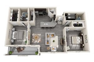 Amsterdam 2Bed 2 Bath at Century 380, Texas, 76227