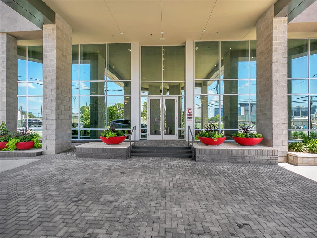 Entrance To Property at Century Medical District, Dallas, TX