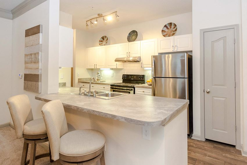 Fully Equipped kitchen at The Views at Jacks Creek, Snellville