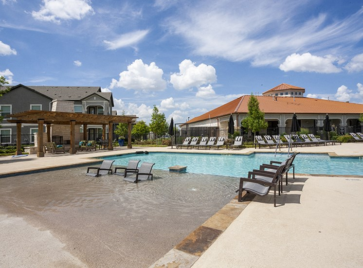 Relaxing Area By The Pool at Century Travesia, Austin, 78728