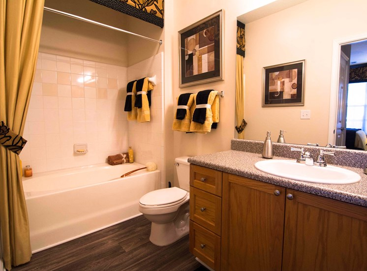 Modern Bathrooms at Parkside Vista in Atlanta, GA 30340