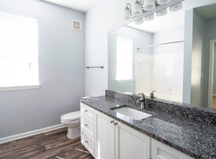 Spacious Bath Storage at Parkside Vista in Atlanta, GA 30340