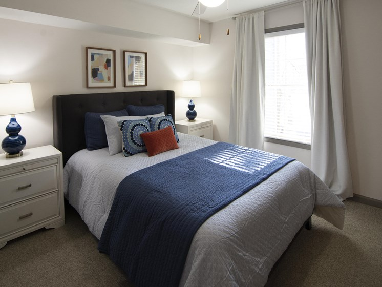 Bright Bedroom at Paces Ridge at Vinings, Atlanta