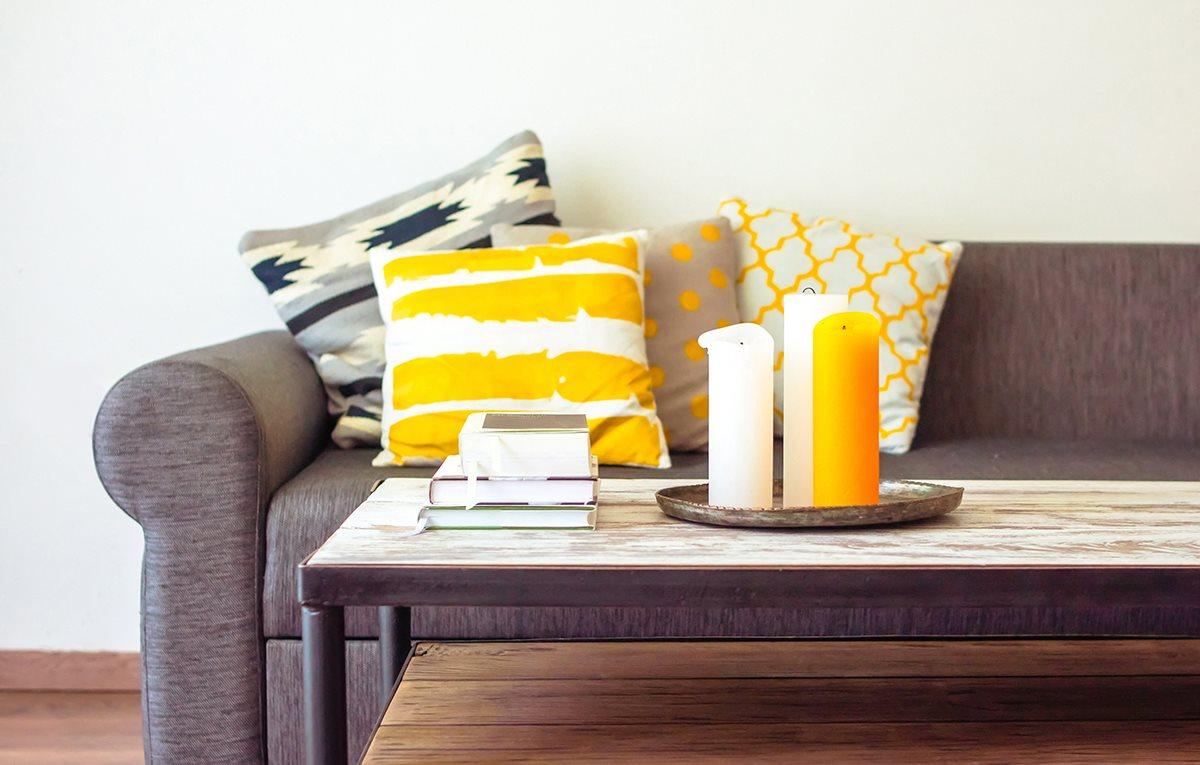 The living room, with flexible furniture arrangements at STONEGATE, Birmingham, AL, 35211