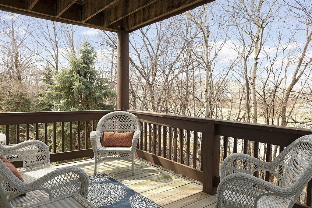 Large Private Patios & Balconies at Birchwood Apartment Homes, Maple Grove, Minnesota