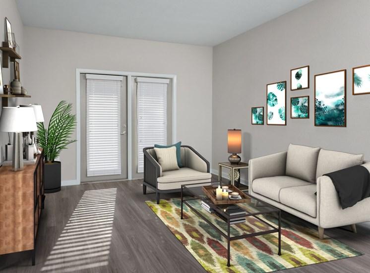 Open Living Room at Spyglass Seaside