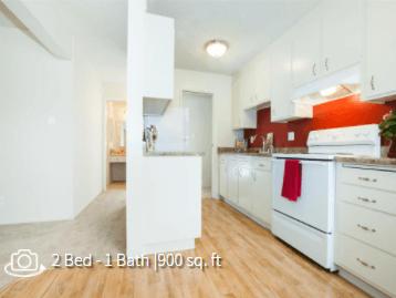Bright and Light Kitchen at Del Coronado Apartments in Alameda, CA 94501