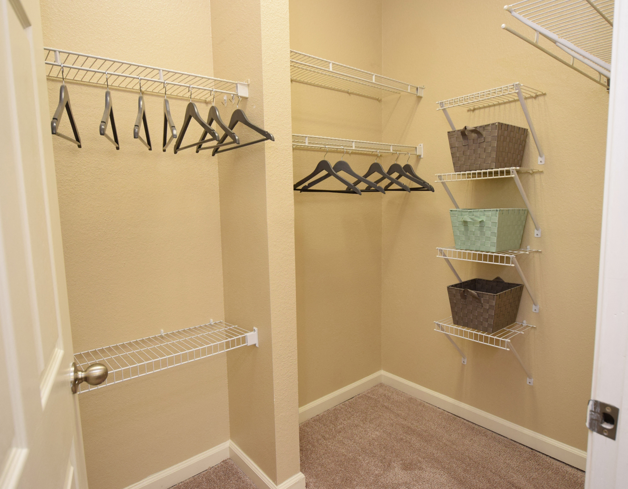 Large Closets at Highlands of Grand Pointe Apartments in Lafayette, LA