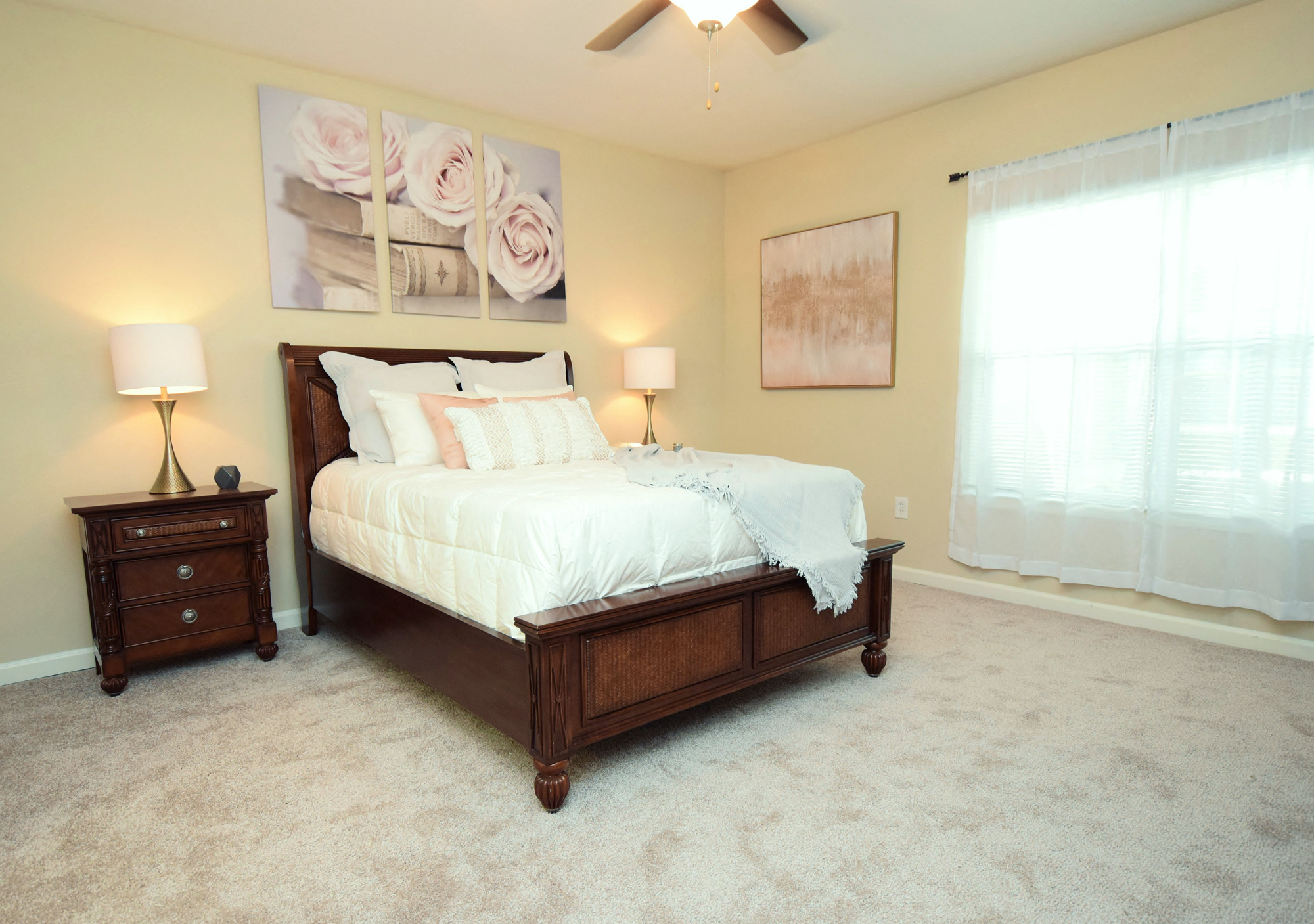 Large Bedrooms at Highlands of Grand Pointe Apartments in Lafayette, LA
