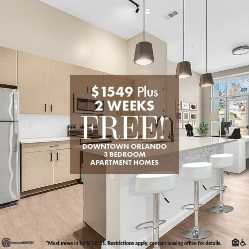 Two Weeks Free on Select LWP Homes Starting at $1549 Must move in by 3/12