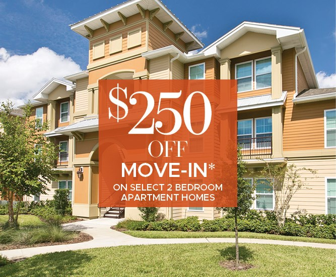 $250 off Move in Costs on Seelect 2 Bedroom Apartment Homes Must move in by 11/27