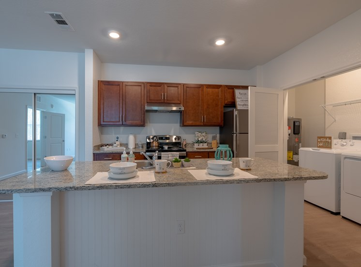 Kitchen and Laundry