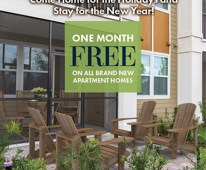 1 Month Free Move In Special