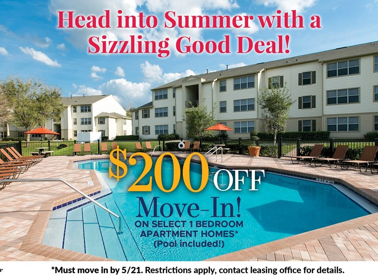 $200 off move in