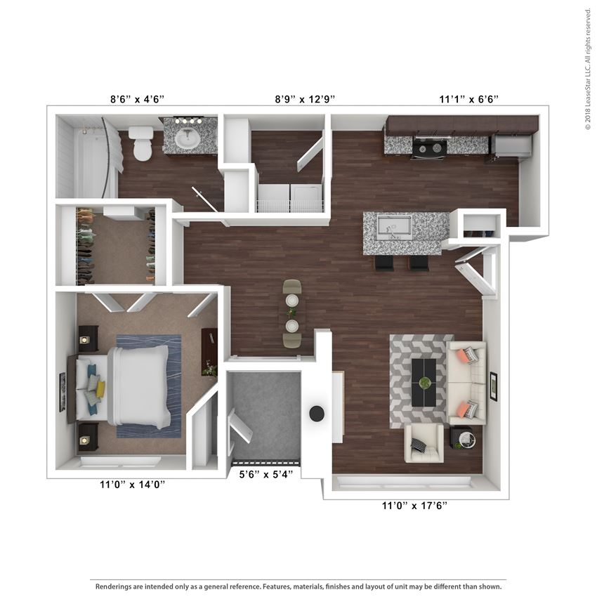 Sedona floor plan