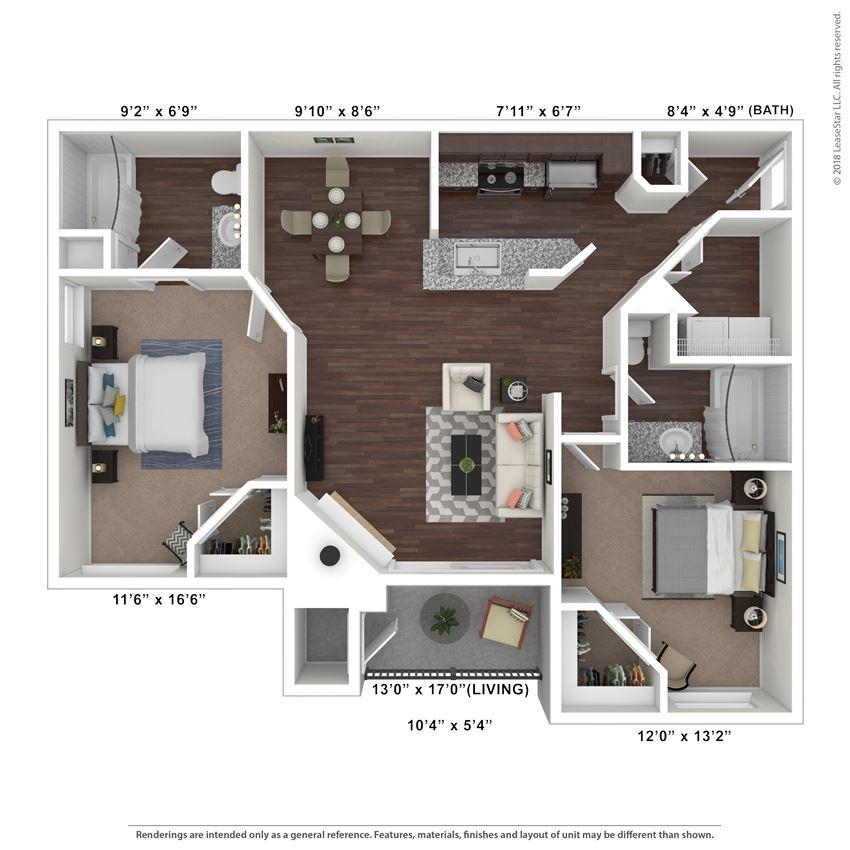 Mesa floor plan