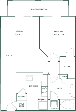 Allister North Hills - Dartmouth floor plan