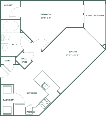 Allister North Hills - Drewry floor plan
