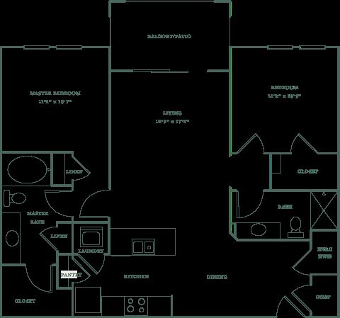 Allister North Hills - Forsyth floor plan