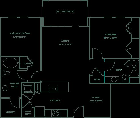 Allister North Hills - Lassiter floor plan