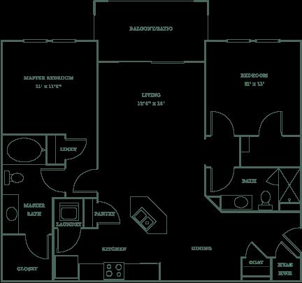 Allister North Hills - Marlowe floor plan
