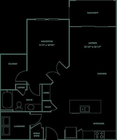 Allister North Hills - Scottland floor plan