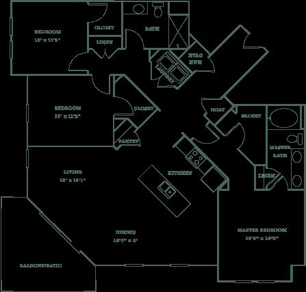 Allister North Hills - Williamsborough floor plan