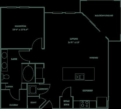 Allister North Hills - Yadkin floor plan