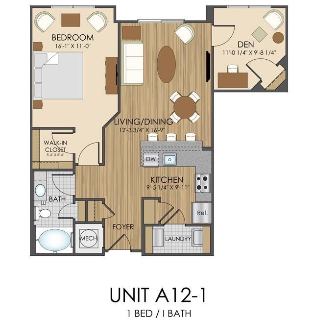 Hidden Creek Apartments Gaithersburg Maryland 1 bedroom 1 bath apartment